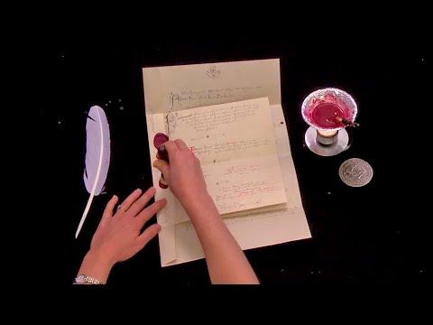 Unintentional ASMR ✉️ Letter Folding, Locking & Sealing 💌 (Crinkly Paper, No Talking, Compilation)