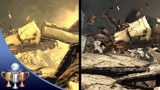 PS3 vs PS4 Graphics Difference - CALL OF DUTY GHOSTS (Full Level Side By Side Comparison)