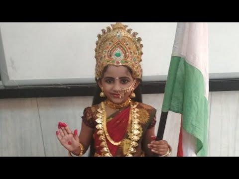 Bharath Mata Fancy Dress