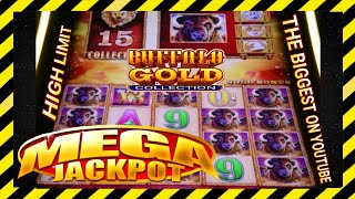 "THE BIGGEST HAND PAY OF MY LIFE in""BUFFALO GOLD COLLECTION ""/MEGA JACKPOT/[ 15 gold heads ]📢Ep #8"