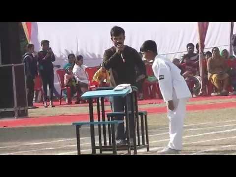 Karate Kids (St. Francis School Amritsar ) Sports Day 25 Nov 2017