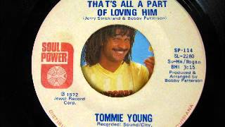 Cover images TOMMIE YOUNG-that's all a part of loving him