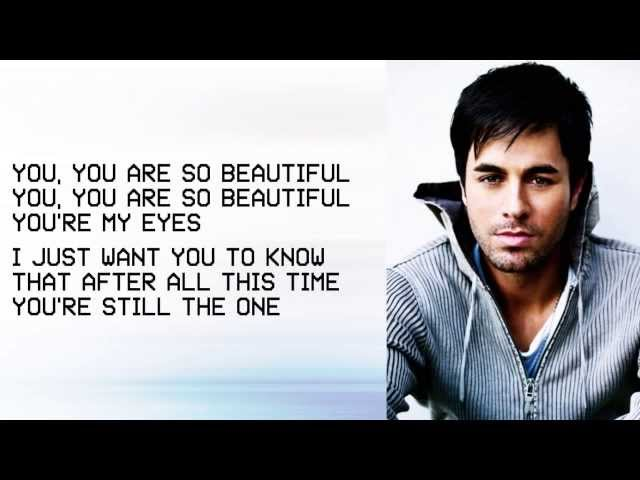 Enrique Iglesias (BRAND NEW SONG) Beautiful ft  Kylie Minogue LYRICS