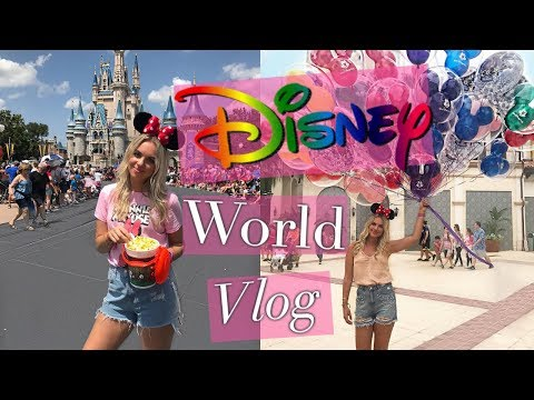 DISNEY WORLD VLOG - Magic Kingdom, Hollywood Studios, Animal Kingdom & more   September 2017
