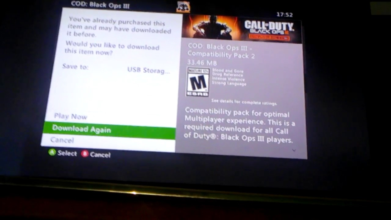 How To Fix Download For Xbox 360 Black Ops 3 Youtube
