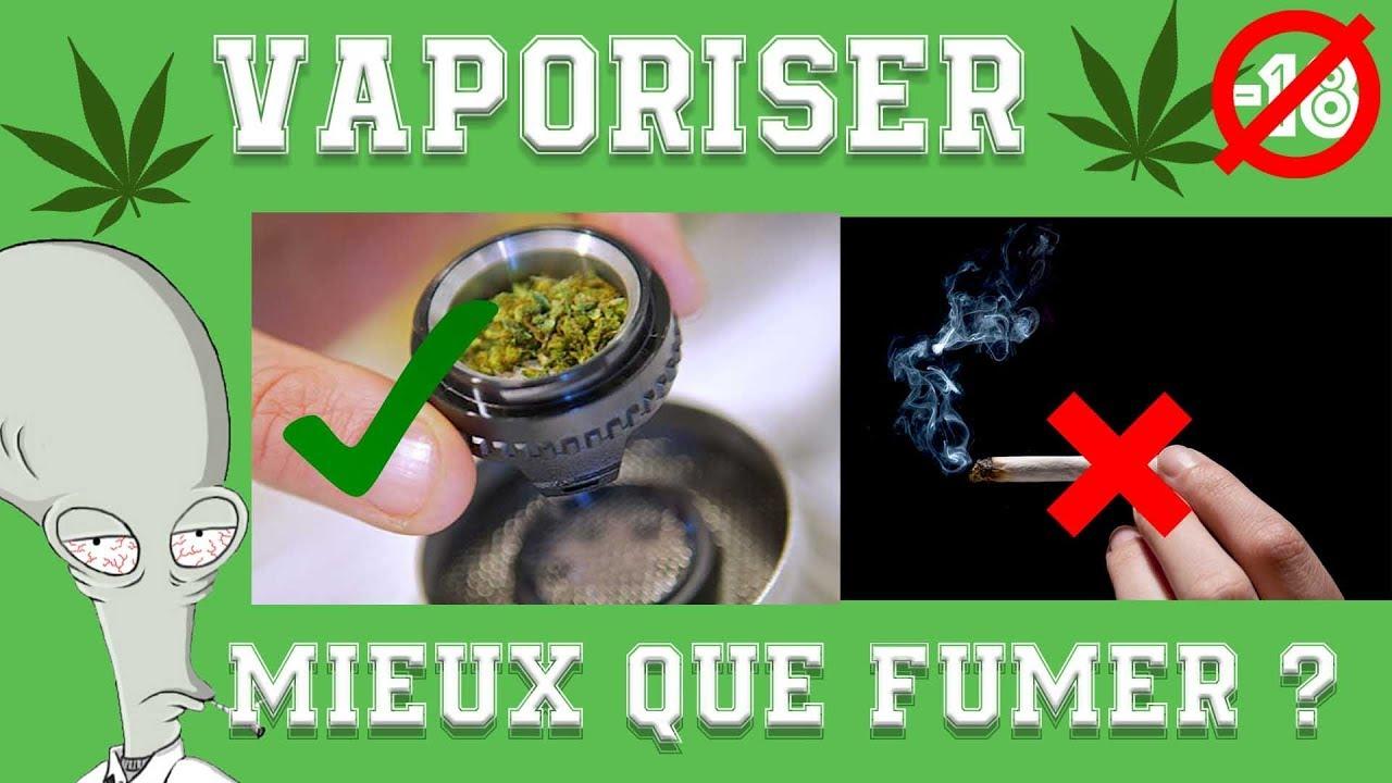 VAPORISER, MIEUX QUE FUMER ?