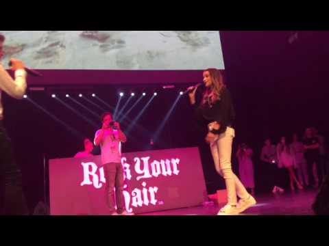 Annie LeBlanc Hayden Summerall Little Do You Know @ Rock Your Hair Concert