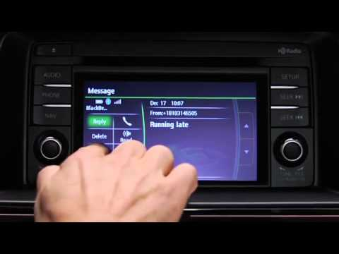 Mazda6 — Text Message Receipt/ Reply- Operational Guide