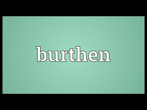 Header of burthen