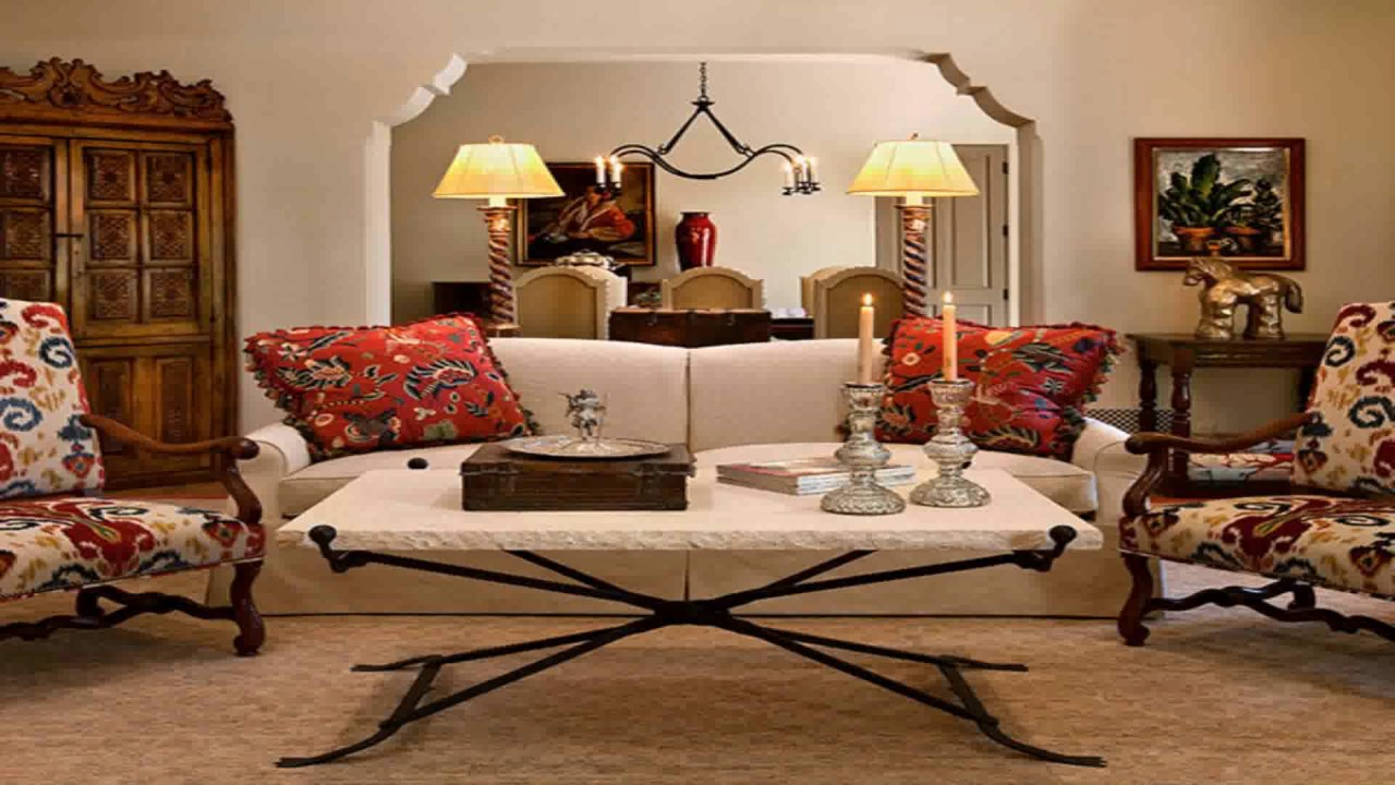 Spanish Style Homes Interiors - YouTube