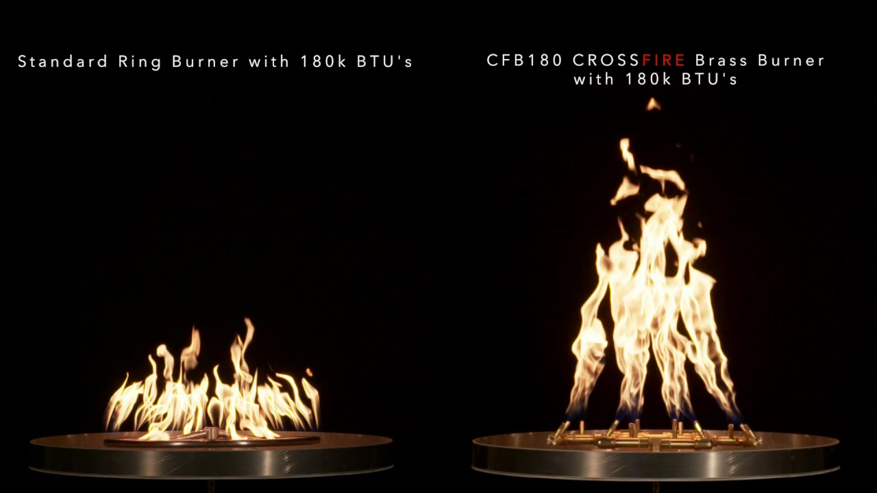 home warming trends crossfire brass burner