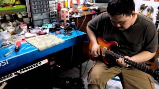 red king distortion test by boy yes sir day
