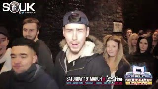 NEXT HYPE PROMO VIDEO - SATURDAY 19TH MARCH 2016