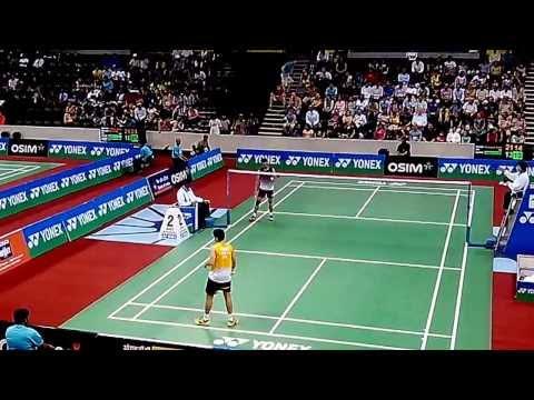 Taufik Hidayat vs Parupalli Kashyap - Part 6/7 - BWF India Open 2013