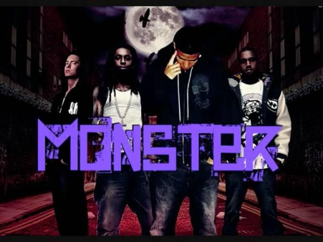 Monster Eminem Kanye West Lil Wayne Drake Youtube