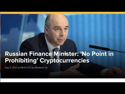 Russia Makes About-Face, Plans to Regulate Cryptocurrencies