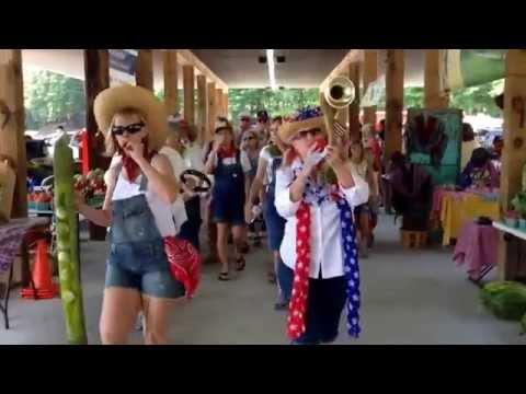 Kazoo Parade Green Bean Festival Blairsville  7/26/14