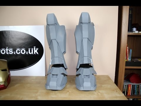 Iron Man Power Suit 21 Boot Assembly James Bruton