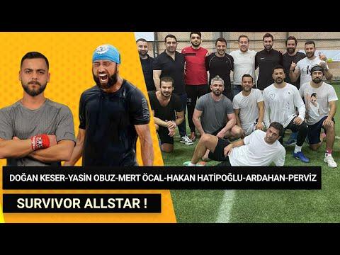 Survivor All Star Maçı ! Doğan Keser , Yasin Obuz , Mert Öcal , Hakan Hatipoğlu