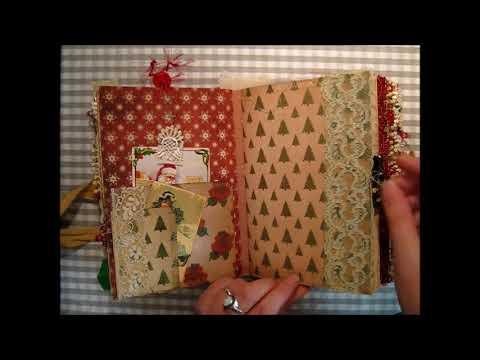 Christmas Santa journal for my sister