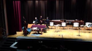 EKU Percussion Ensemble 2014 performing IV (1935) by Johanna Magdalena Beyer