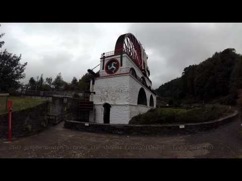 Great Laxey Wheel and Mine Railway [4K]