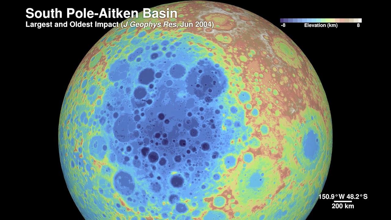 Тур по Луне в HD