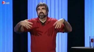 """Volker Pispers """" bis neulich 2010 """"  45 Min. kompl.( 3Sat 07.02. 2011 )"""