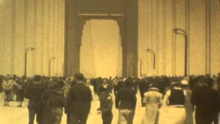 Golden Gate Bridge Opening May 27, 1937 Pedestrian Walk