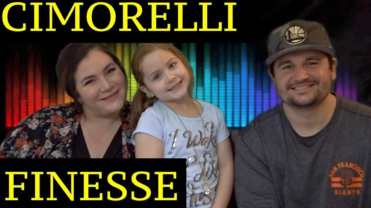 DAD AND DAUGHTERS REACTIONS TO CIMORELLI - FINESSE ( REMIX ) BRUNO MARS FT. CARDI B
