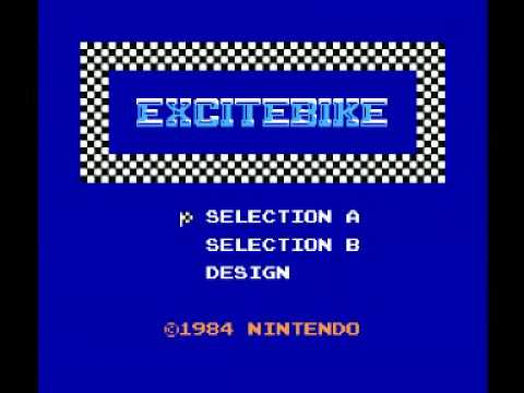 Excitebike (NES) Music - Title Theme