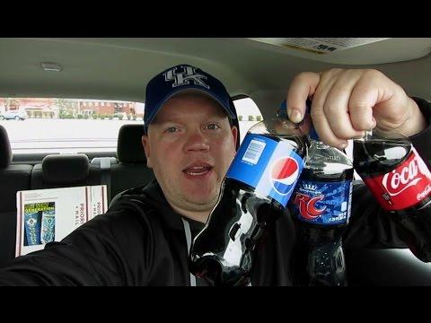 Coke Vs Pepsi Vs RC Cola Taste Test