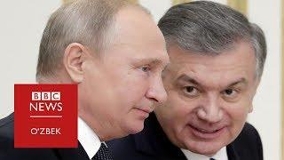 "Путин Тошкентда: Президентлар ""патентни ҳал қилишганида зўр бўларди"""