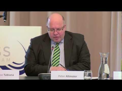 Keynote Bundesumweltminister Peter Altmaier