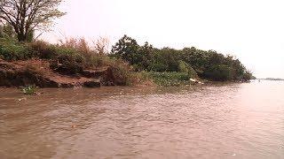 VTC14 | Đồng Nai: Nhiều hộ dân có nguy cơ trôi nhà do nạn khai thác cát trái phép