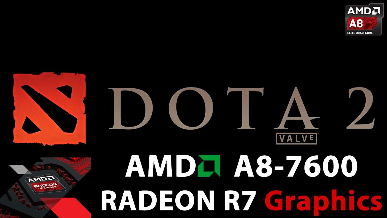 Dota 2 Reborn Amd Apu A8 7600 Gameplay Youtube