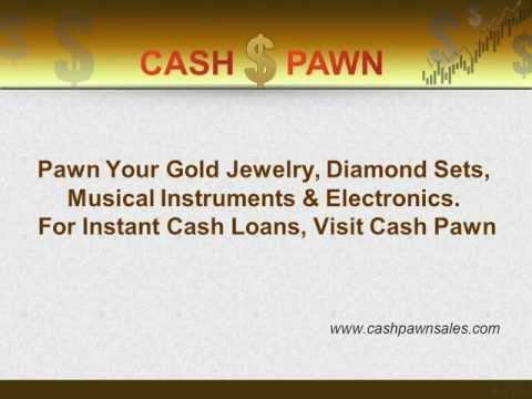 Pawn Jewelry, Diamonds, TV, Guitar and Electronics with Cash Pawn in Austin, Texas