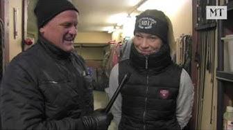 Talkkari Kari Lähdekorpi vierailee Katja Melkon tallilla, ohjelmassa myös yhteispohjoismainen T75