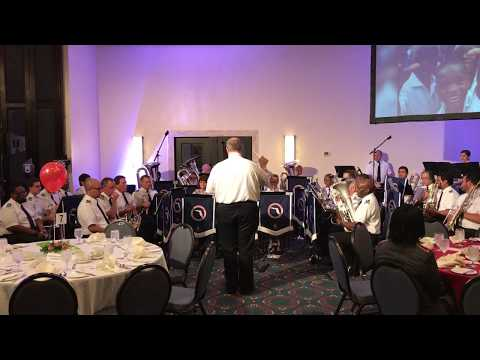 """For His Service"", Florida Divisional Band 2017 (Jamaica)"