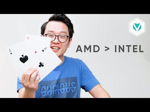 CPU Laptop AMD đã vượt trội hơn Intel chưa?