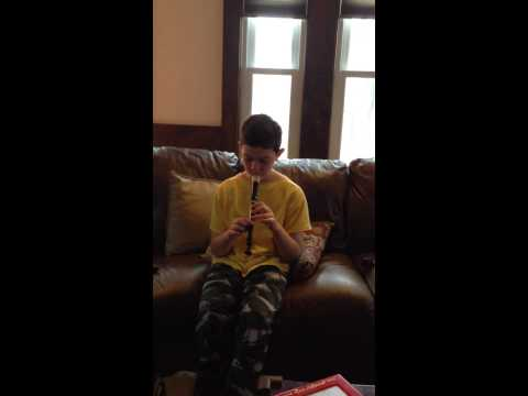 Eye Of The Tiger On Recorder