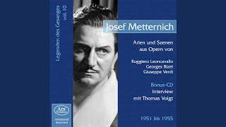 Interview Josef Metternich – Thomas Voigt (1990 / 2000) : Personlichkeit und Stimme. Deutsches...