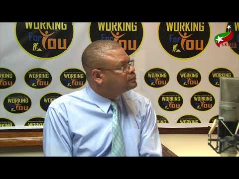 Working For You with Les Khan, CEO St Kitts and Nevis Citizenship by Investment Unit