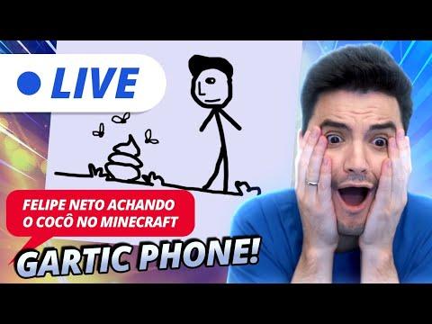 GARTIC PHONE VOLTOU! VEM PRA LIVE! [+10]