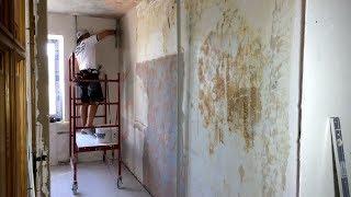 Ремонт кухни, комнаты и коридора в двухкомнатной квартире. Запорожье.