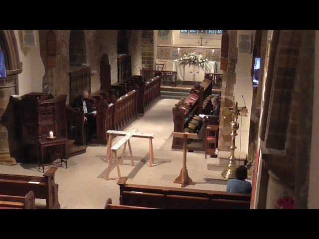 Canford Magna Parish Church  Memorial service 1/11/20