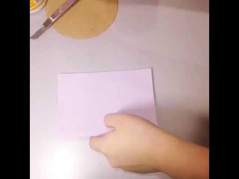 DIY Paper Dahlia part 1