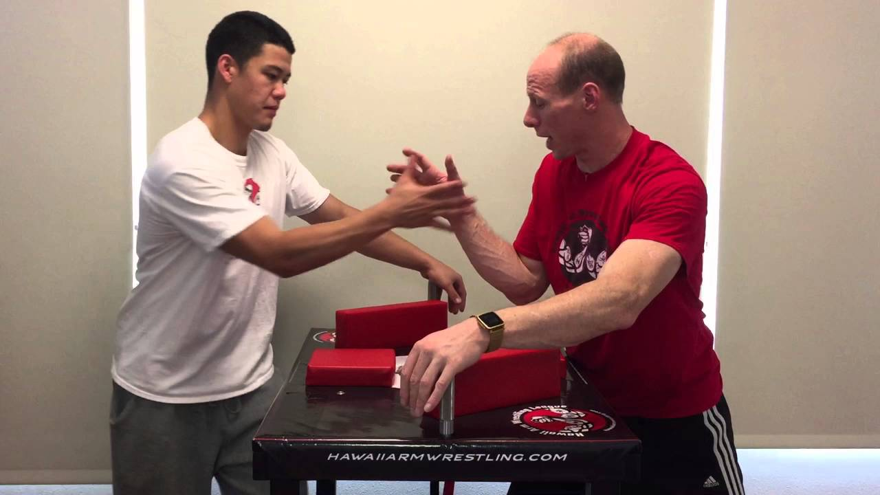 Arm Wrestling Secrets - Part 13 - Outside Arm Wrestling Technique and How to Top Roll