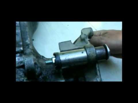 Как поменять сайлентблоки на скутере