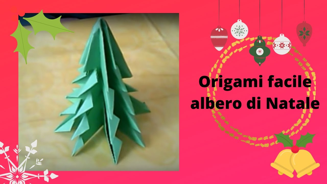tutorial albero origami